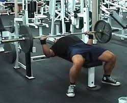 barbell supine bench press