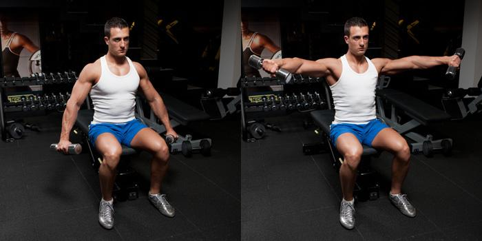 lateral raise shoulder exercise