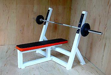supine bench press  professional gym bodybuilding