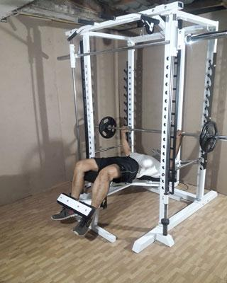power tower decline bench press