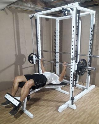 power tower smith decline bench press