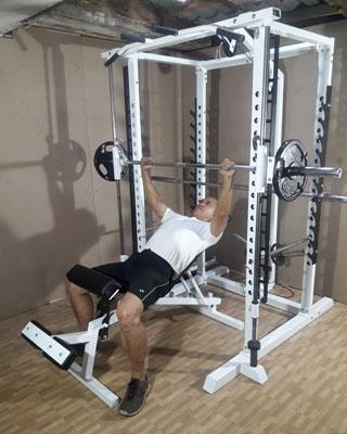 power tower smith incline bench press