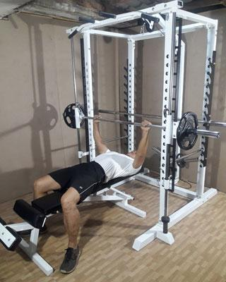 power tower smith supine bench press